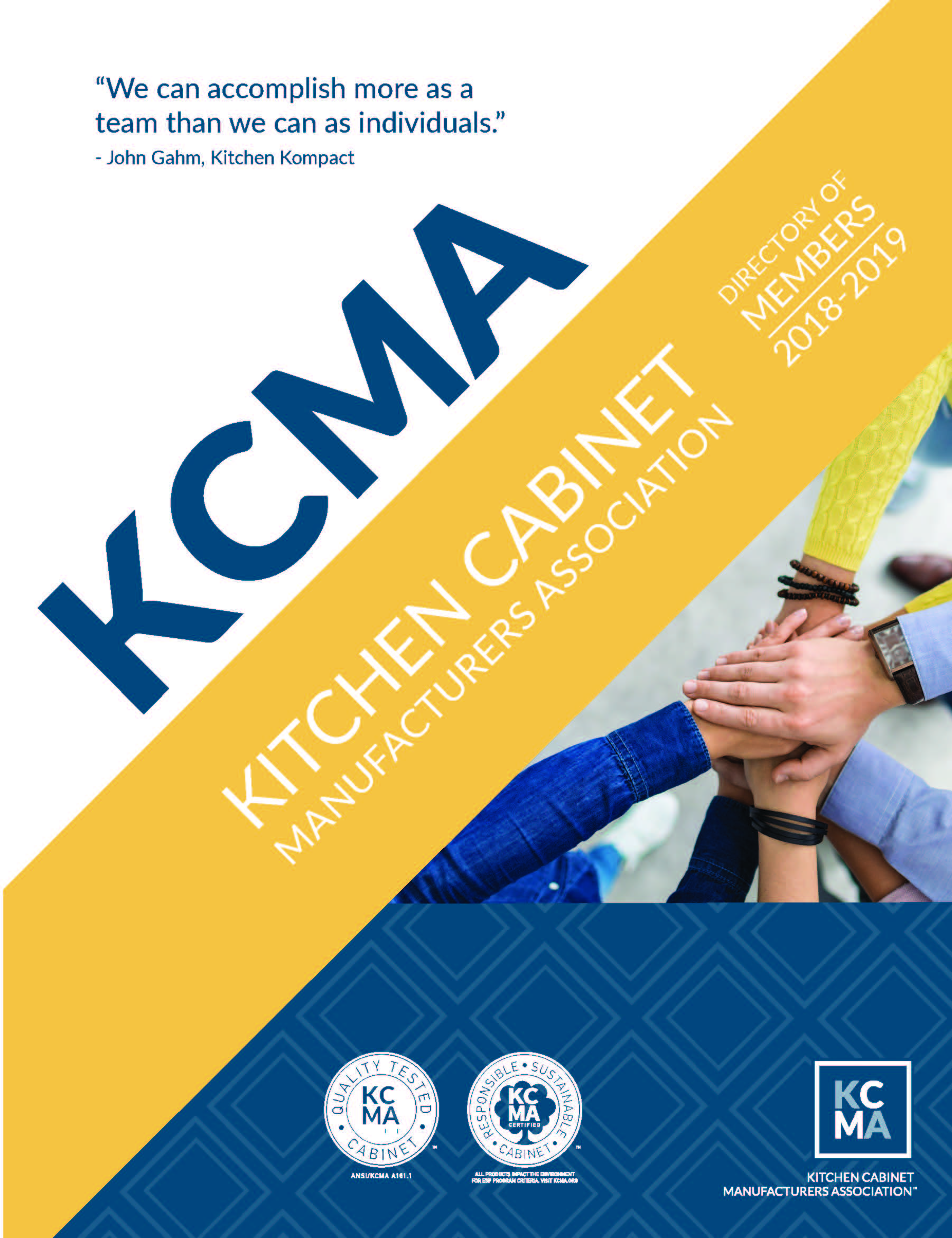 KCMA Member Directory Cover